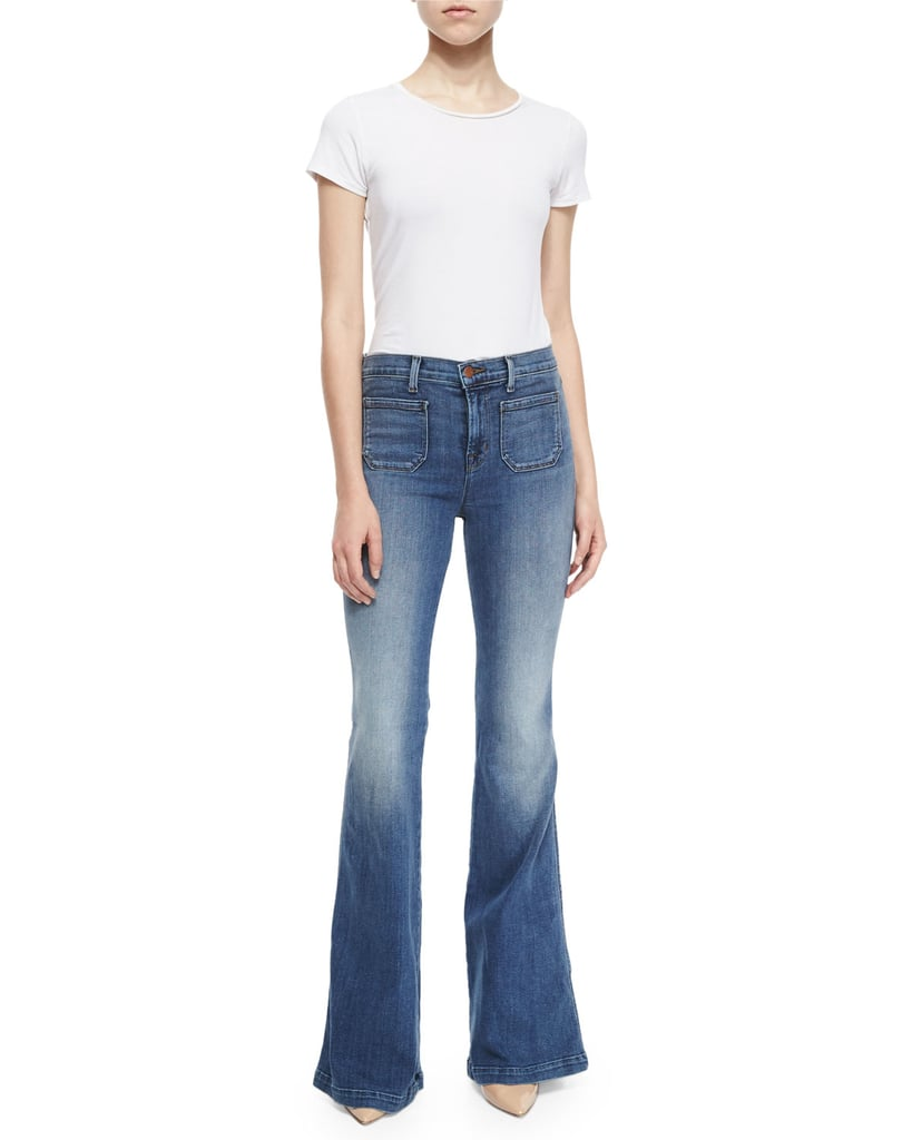 J Brand High-Rise Flare Jeans ($238)