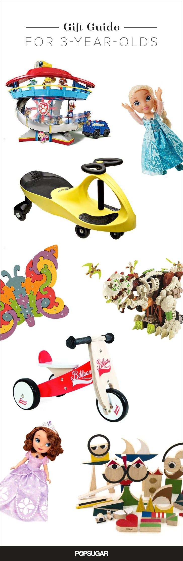 The Best Gifts For 3-Year-Olds
