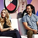 Amanda Seyfried and Milo Ventimiglia