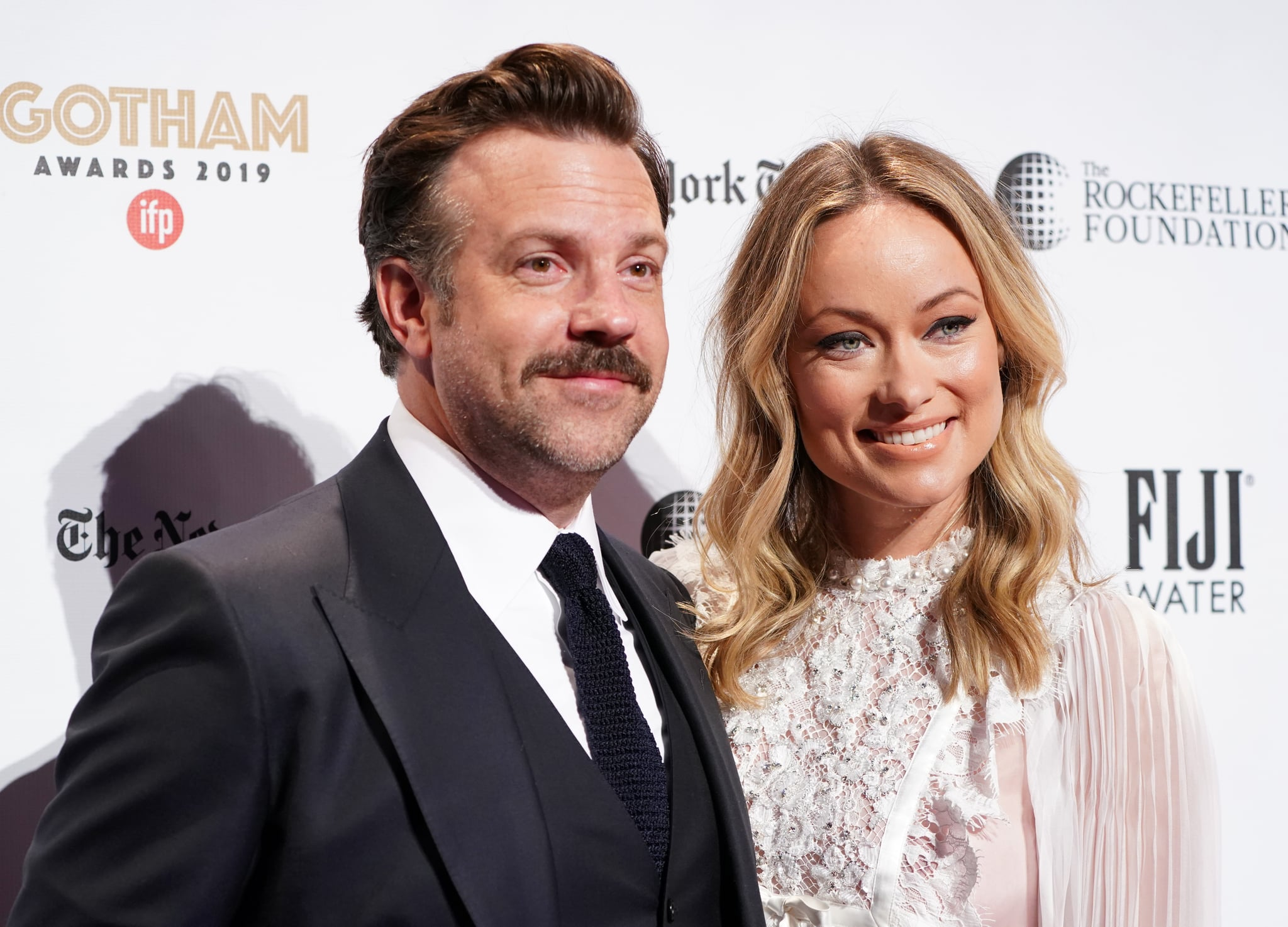 NEW YORK, NEW YORK - DECEMBER 02: Jason Sudeikis and Olivia Wilde attend the IFP's 29th Annual Gotham Independent Film Awards at Cipriani Wall Street on December 02, 2019 in New York City. (Photo by Jemal Countess/Getty Images for IFP)