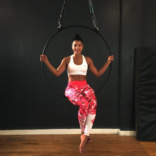 Aerial Hoop Workout With Hannah Bronfman | Video