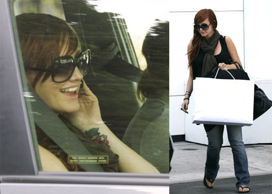 Photos of Ashlee Simpson on Rodeo Drive