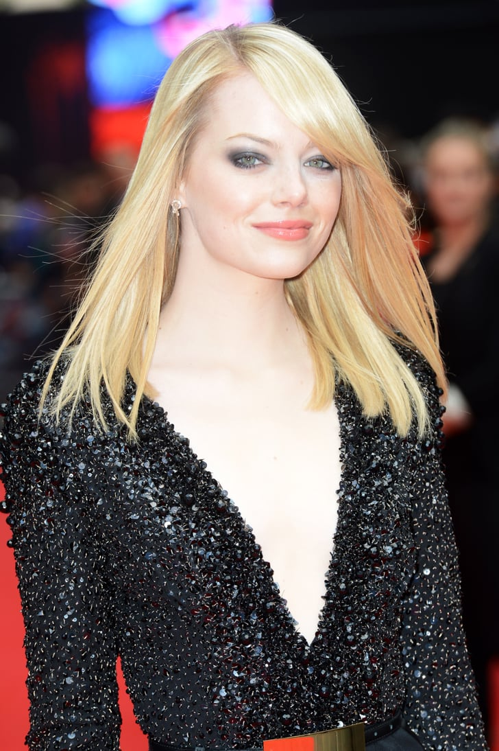 emma stone hit the red carpet in london emma stone. Black Bedroom Furniture Sets. Home Design Ideas