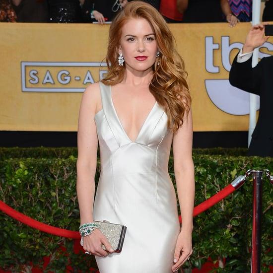 Isla Fisher's Dress at SAG Awards 2014
