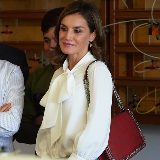 Queen Letizia Zara Bag September 2017
