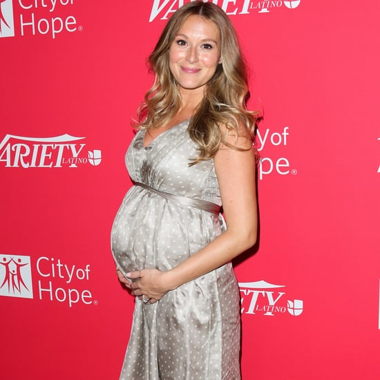 Pregnant Alexa PenaVega at Variety's 10 Latinos to Watch