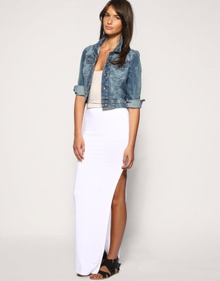 Asos Side Split Maxi Skirt ($34)