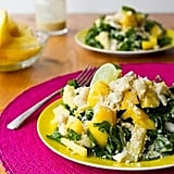 Tropical Kale Salad With Creamy Dressing