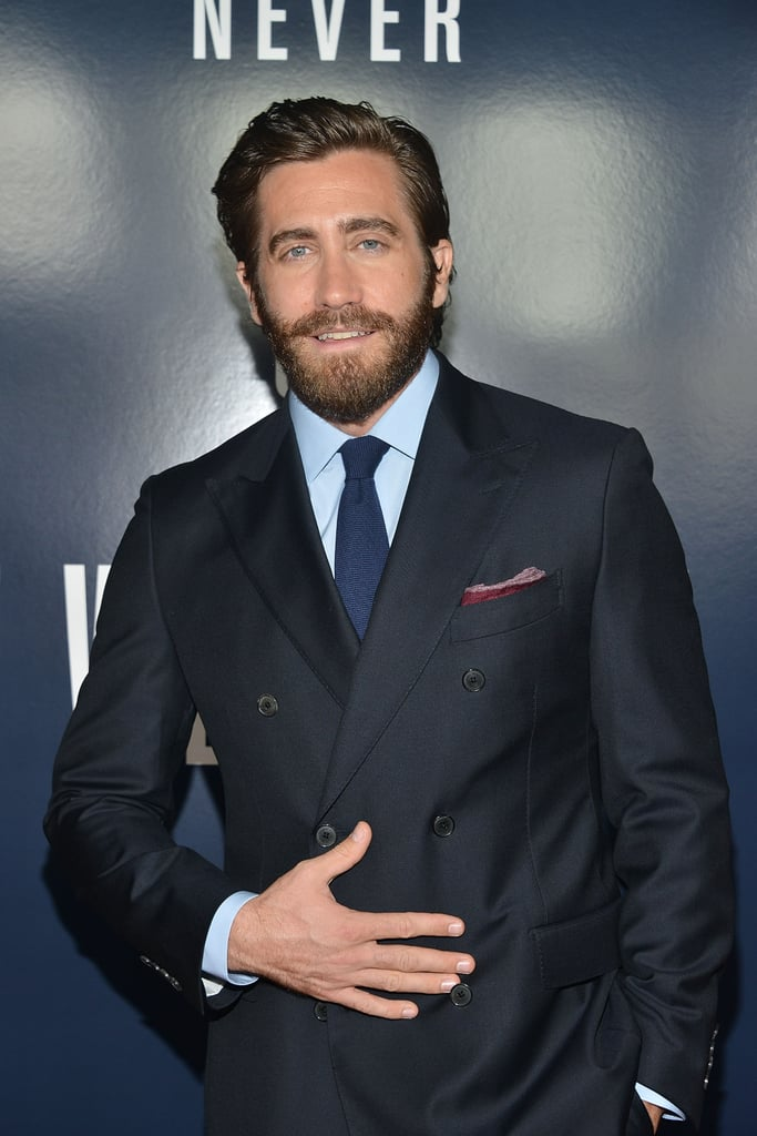 Jake Gyllenhaal has been in the spotlight for over 20 years, and since his debut in 1991's City Slickers, he's grown into major leading-man material. His breadth of work in films like Donnie Darko, Love & Other Drugs, Brokeback Mountain, and the new biopic Stronger prove Jake's ability to go from sweet to sexy to slightly scary in no time. We've rounded up the photos of him that show off his many (handsome) facets.       Related:                                                                                                           These Jake Gyllenhaal Shirtless Photos Will Give You Life
