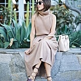 Sleeveless With a Feminine Skirt
