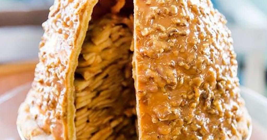 Levee High Caramel Pecan Apple Pie