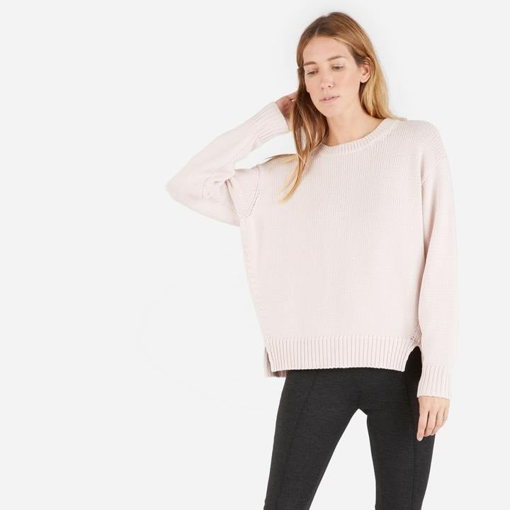 Everlane The Chunky Knit Cotton Crew