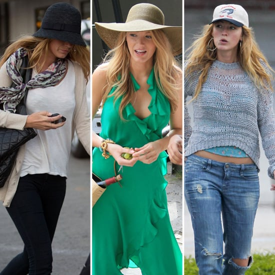 Blake Lively Hats (Pictures)