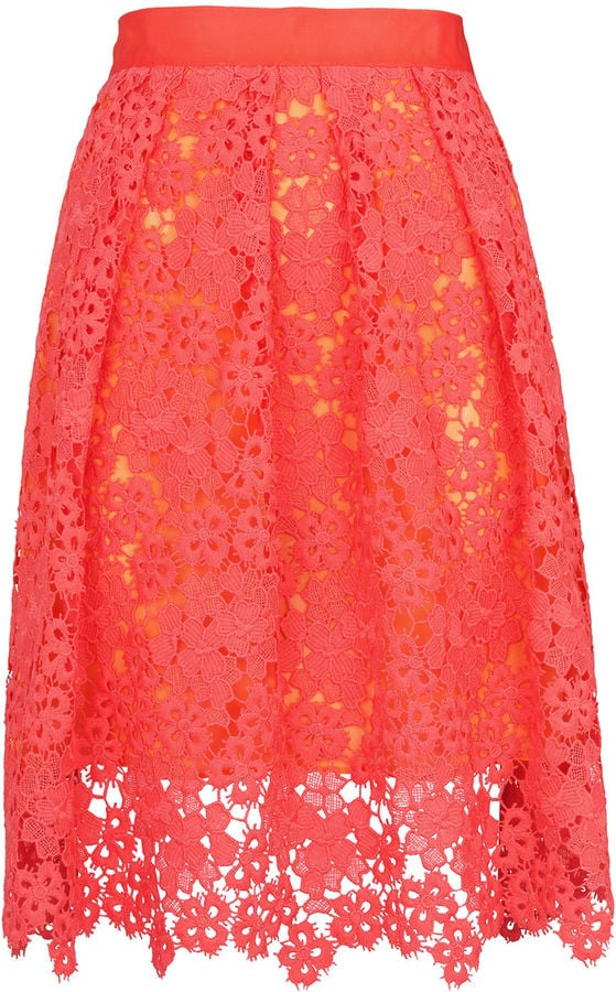 Whistles Meadow Lace Skirt (£140)