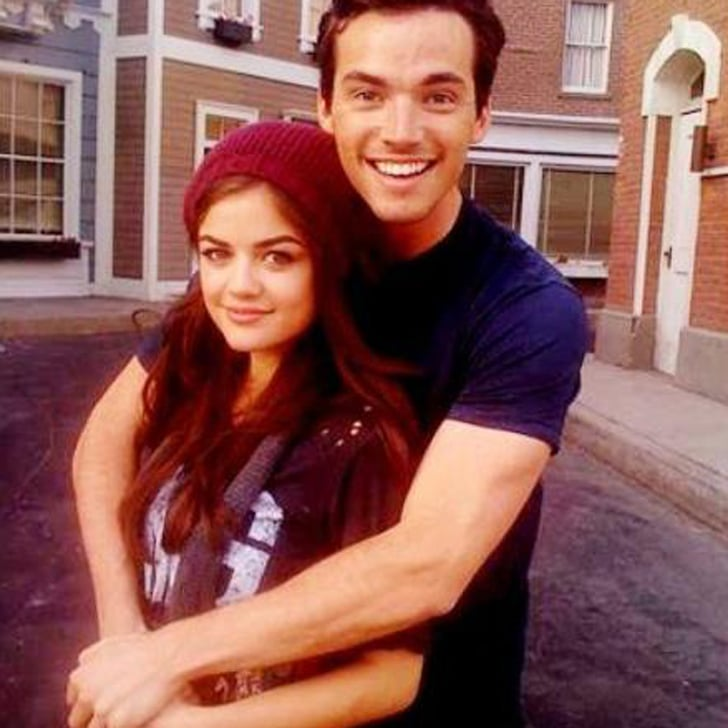 How Ian Harding's Birthday Turned Into a Pretty Little Liars Lovefest
