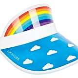 Sunnylife Retro Rainbow Visor ($12.95)