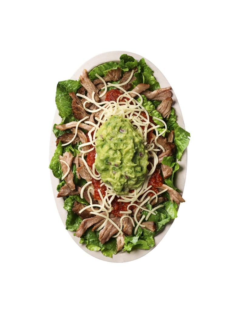 Keto Salad Bowl Ingredients