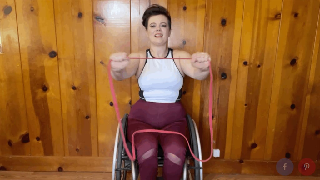 30-Minute Seated Resistance-Band Arm Workout