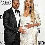 2017: Ciara and Russell Welcome Their Daughter, Sienna Princess