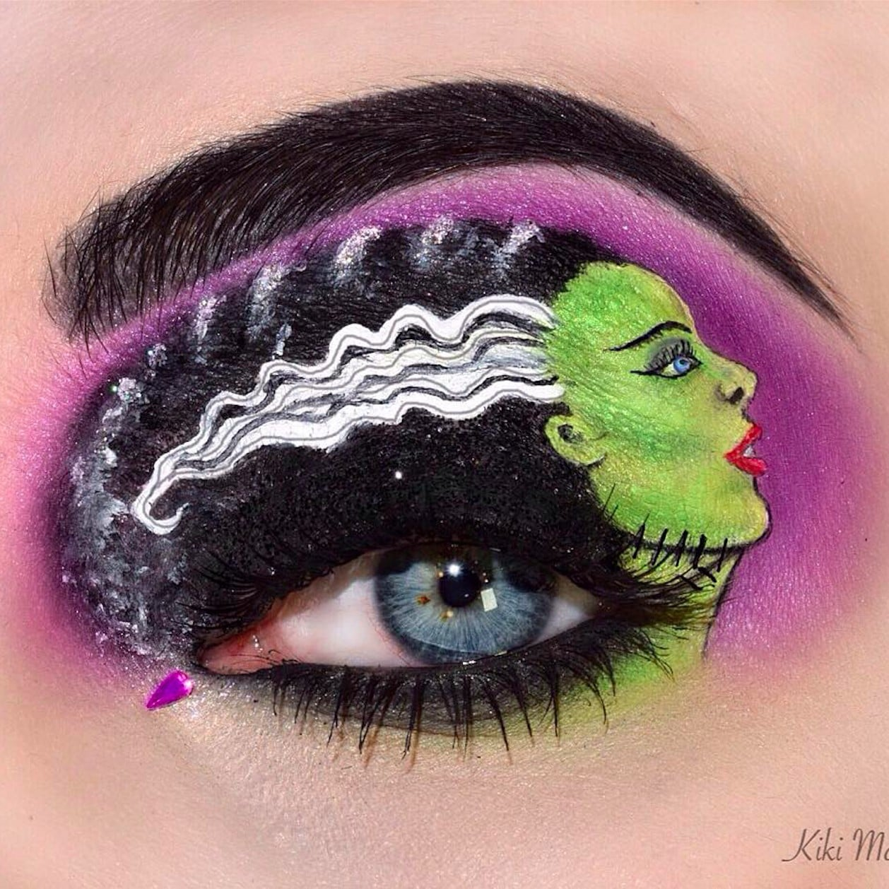 Halloween Eye Art Makeup Popsugar Beauty