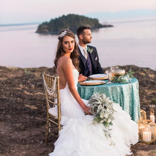 Mermaid-Inspired Wedding Shoot