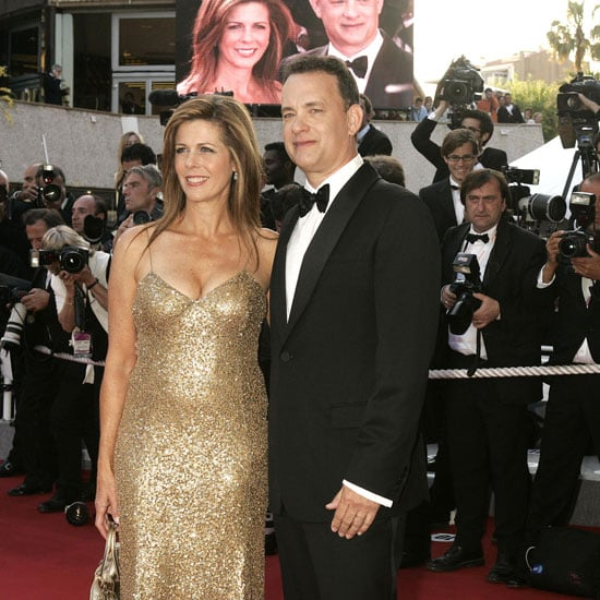 Tom Hanks and Rita Wilson made a gorgeous Cannes couple in 2004.