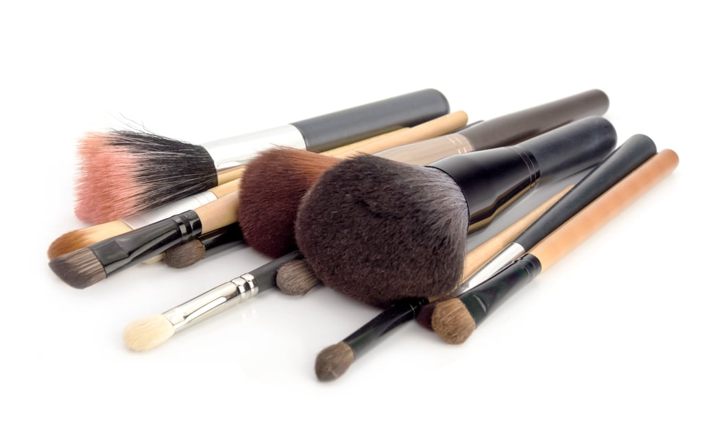 Not cleaning your makeup brushes.