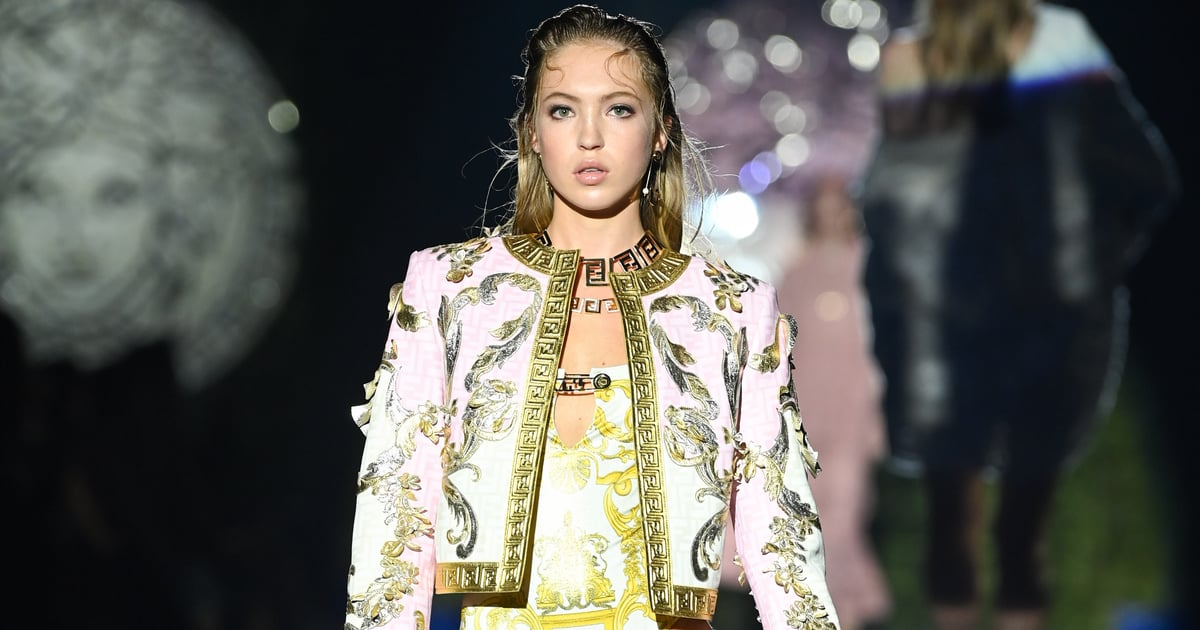 Lila Moss Makes a Positive Statement For People With Diabetes on the Fendi x Versace Runway.jpg