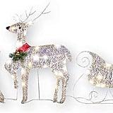 Reindeer Christmas Sleigh Set