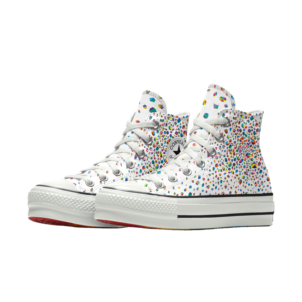 Converse Custom Pride Platform Chuck Taylor All Star By You