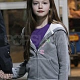 Twilight's Renesmee Arrives in Vancouver to Shoot Breaking Dawn!