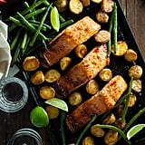 Chili Lime Salmon With Potatoes and Green Beans
