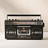Urban Outfitters Radio Cassette MP3 Boombox