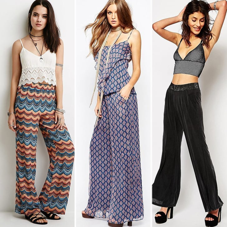 Best Wide-Leg Trousers and Palazzo Pants For 2015