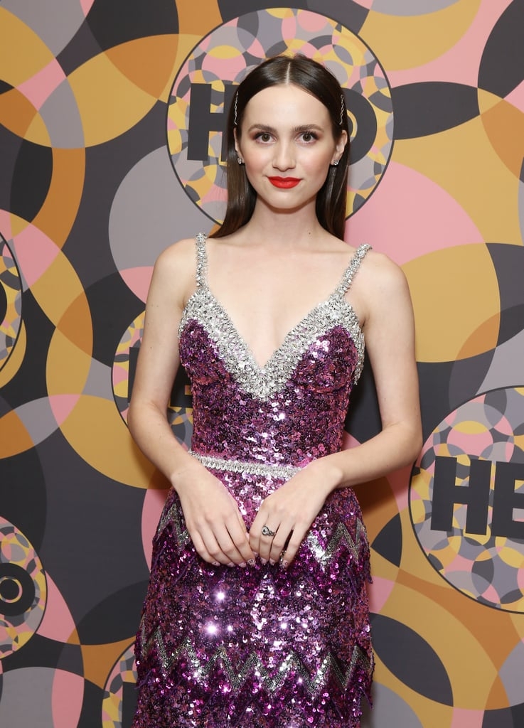 Maude Apatow's Sparkly Manicure at the 2020 Golden Globes