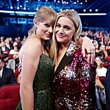 Taylor Swift and Kelsea Ballerini at the 2019 American Music Awards