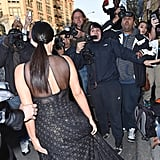 This Is What Happens When You Step on Kim's Dress