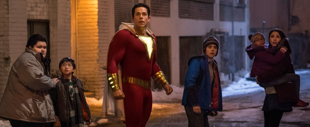 Who Plays the Older Superhero Family in Shazam?