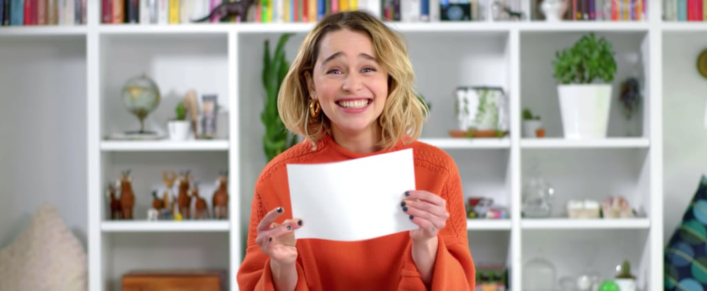 Emilia Clarke Game of Thrones Cast Superlatives Omaze Video