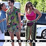 Darren Criss and Mia Swier at Coachella 2019