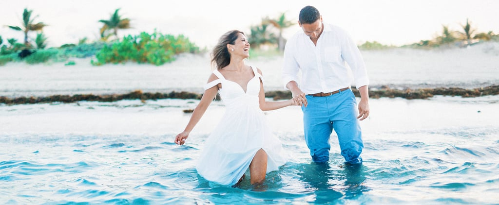 These Newlyweds Trashed the Dress at Sunset, and It Was Unbelievably Romantic