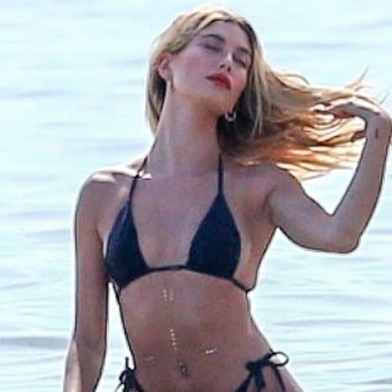 Hailey Baldwin Doing a Bikini Photo Shoot in Miami