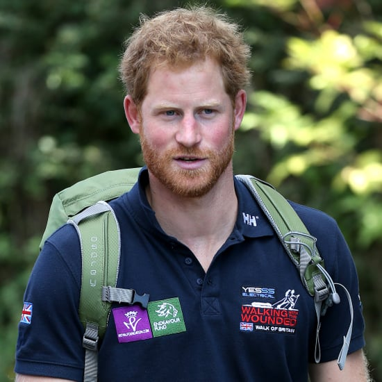 Prince Harry Walking the Wounded's Walk of Britain