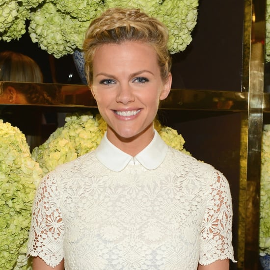 Brooklyn Decker Hair at Tory Burch Store Opening