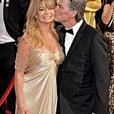 Goldie Hawn on Partner Kurt Russell