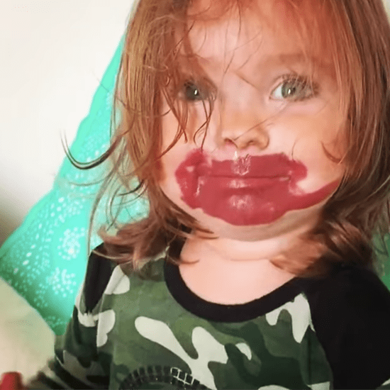 Video of Little Girl Who Stole Her Mom's Lipstick