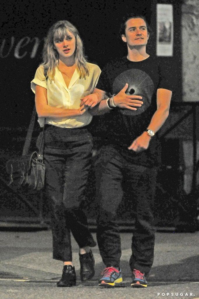 Is Orlando Bloom on a Date? Miranda Kerr Says No
