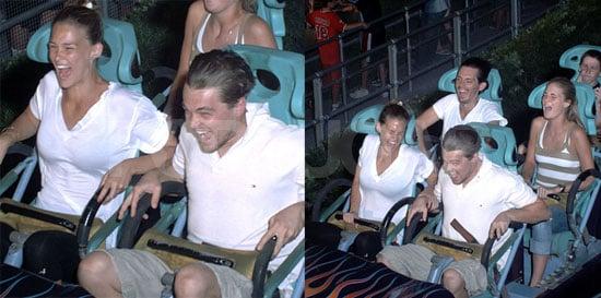 Leo & Bar Love Roller Coasters, Wheeeeee!!