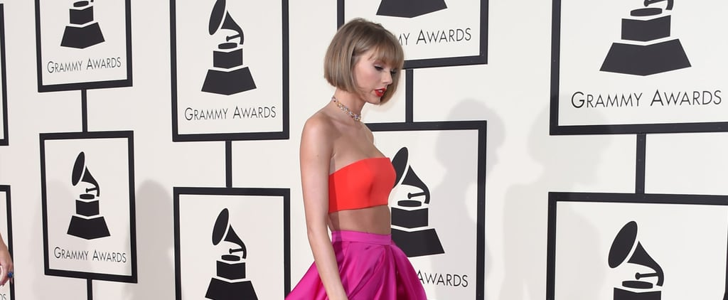 Taylor Swift's Leg Proved It's Totally Worth $40 Million at the Grammys
