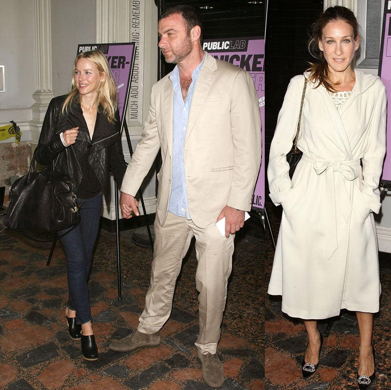 Pictures of Sarah Jessica Parker and Naomi Watts in NYC